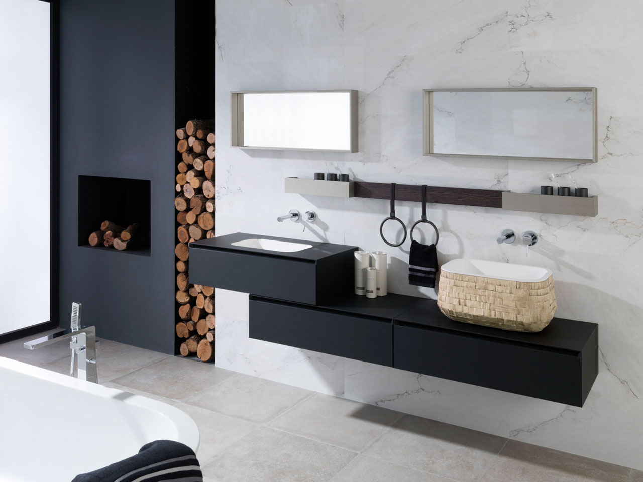 Bathrooms # Muebles De Tualet